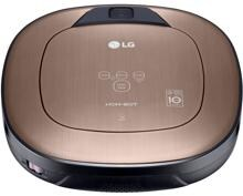 LG VRD830MGPCM HomBot Square Staubsaugerroboter, Dual Eye, Smart Turbo, metal gold