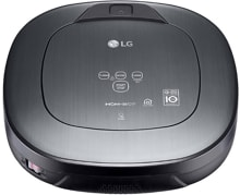 LG VRH950MSPCM HomBot Square Staubsaugerroboter, Home View, Home Guard, metal silver