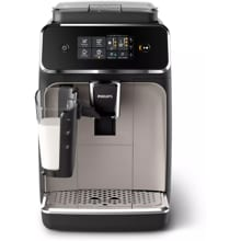 Philips EP2235/40 LatteGo Kaffeevollautomat, 1500W, Milchbehälter, Filter AquaClean, 15  Bar, schwarz