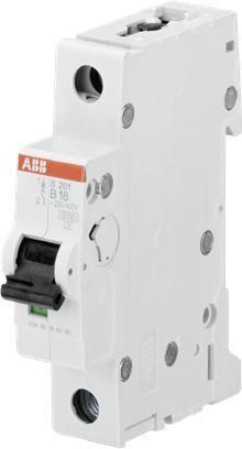 abb s201 b16 sicherungsautomat 1 polig 16 a. Black Bedroom Furniture Sets. Home Design Ideas