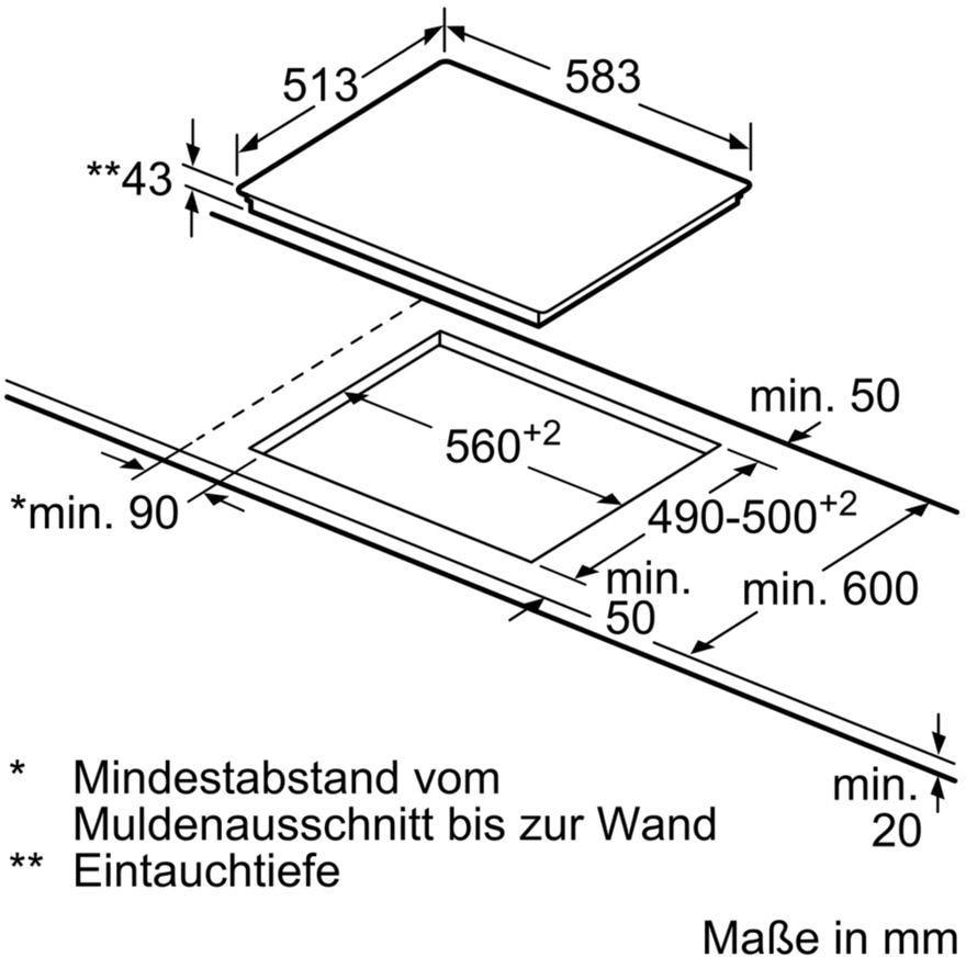 Bosch HEB578BS0 + NKN645GA1E Einbau Herd Set Kauf daheim