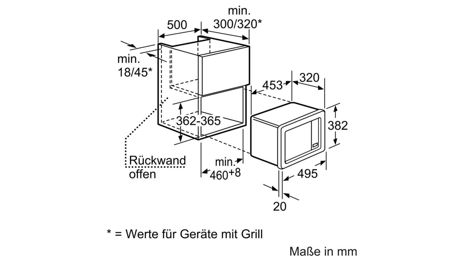 neff hw5350n h53w50n3 einbau mikrowelle 800 w edelstahl memory funktion 50 cm breit von. Black Bedroom Furniture Sets. Home Design Ideas