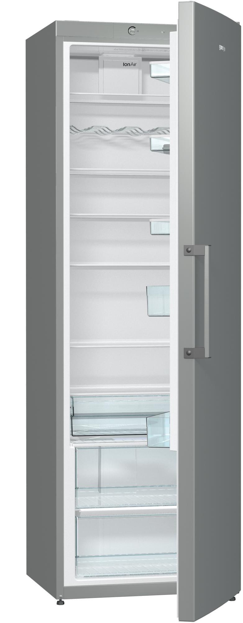 gorenje r6192fx a k hlschrank inox 60 cm breit von. Black Bedroom Furniture Sets. Home Design Ideas