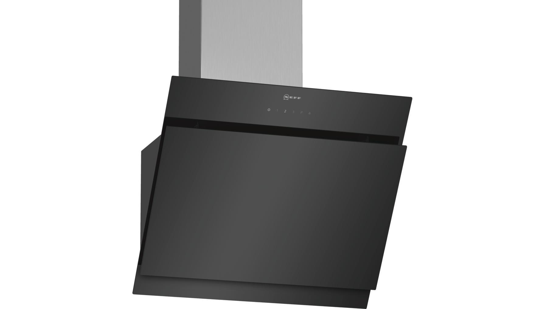 neff dihm651s kopffrei dunstabzugshaube d65ihm1s0 59 cm breit ab umluft edelstahl eek a. Black Bedroom Furniture Sets. Home Design Ideas