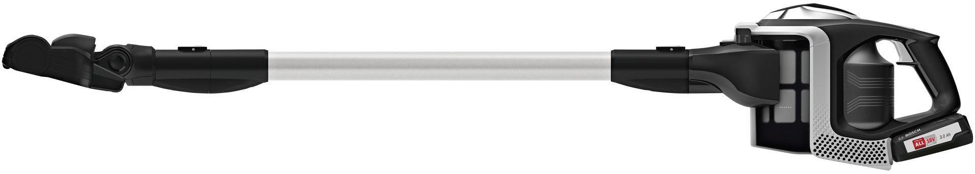 Bosch BBS811PCK Akku Handstaubsauger, wechselbarer Li Ion Akku 18V, Feinstaubfilter, schwarz